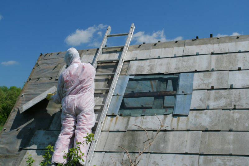 Asbestos Removal for roofs and garage roofs
