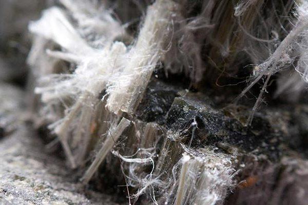 Asbestos Close up