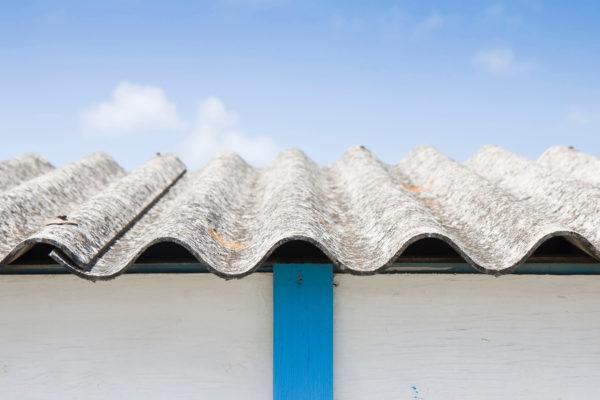 Asbestos on roof