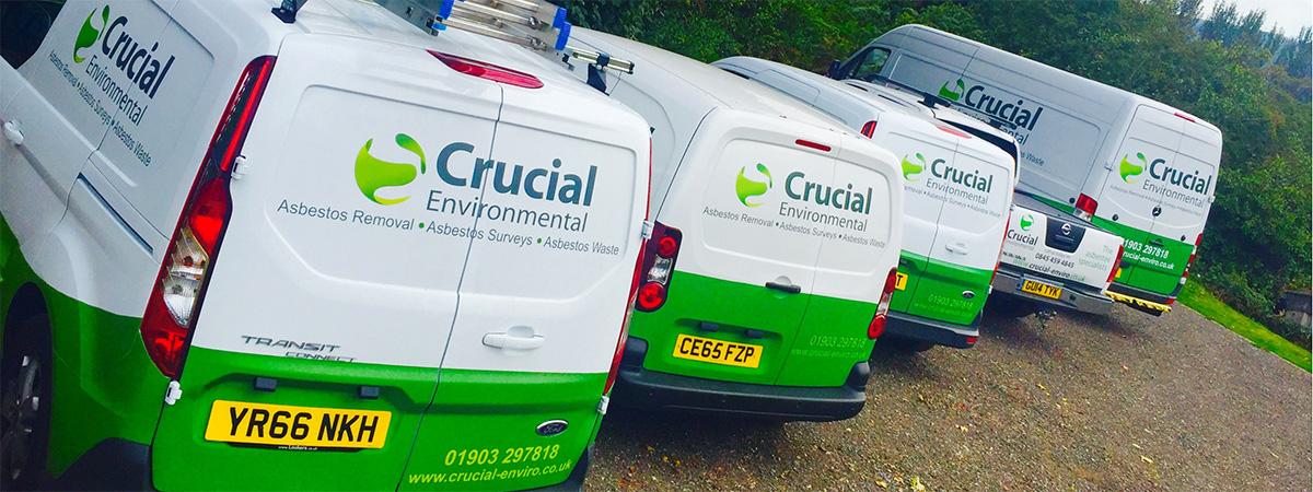 Crucial environmental vans